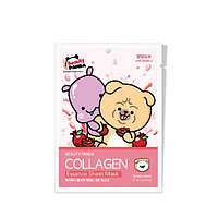 Beauty Panda Collagen Essence Sheet Mask Тканевая маска с Коллагеном, фото 1