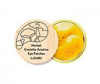L.Sanic Herbal Centella Asiatica Hydrogel Eye Patches Гидрогелевые растительные патчи с экстрактом центеллы, фото 1