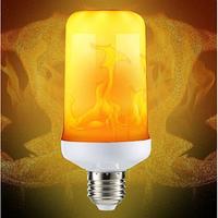 Лампа LED с эффектом пламени, фото 1