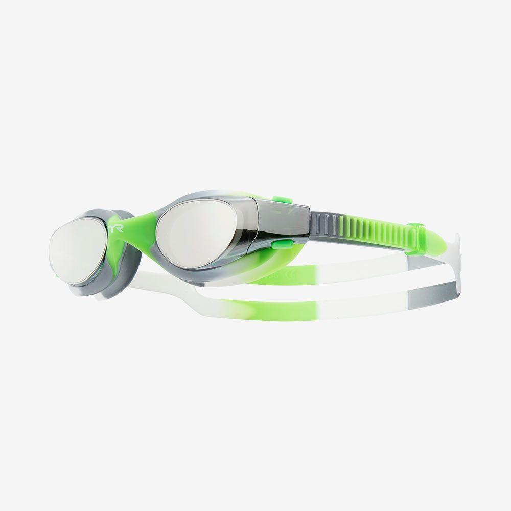Очки для плавания подростковые TYR Vesi Tie Dye Mirrored Junior
