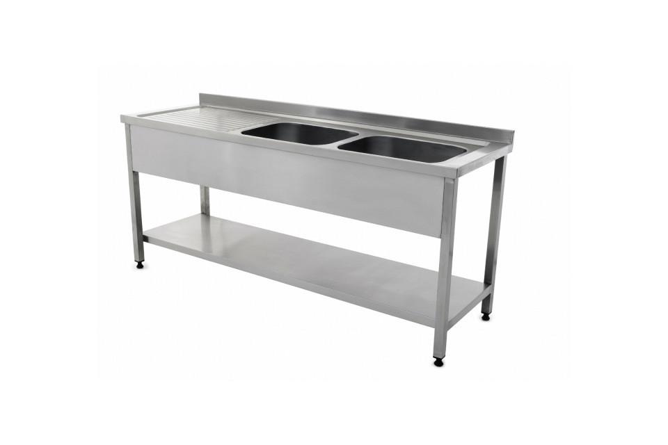 Раковина для мойки инструментов со столом SSW 01
