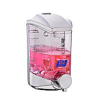 Дозатор для жидкого мыла, 400 мл ABS-пластик. 8,8х9,6х16,9 см. Два способа крепления. TITIZ. Турция. D-SD86