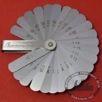 Щупы Shinwa, 25 пластин 0.03-1.00 мм, длина 65мм