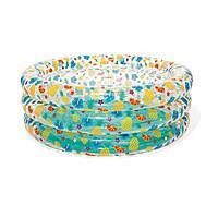 Детский надувной бассейн Bestway 51045 Морской мир, 150 х 53 см