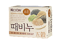 "Riceday five grains Scrub Soap Мыло-скраб ""Пять злаков"" 100 гр"