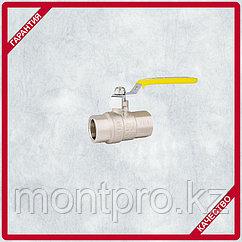 Кран шаровой латунь, ручка-рычаг М/М (ГАЗ) (1050) STA