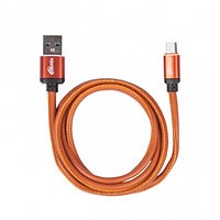 Кабель Ritmix RCC-415 MicroUSB-USB 2.5 A Leather