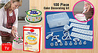 Набор для украшения тортов.100 piece Cake Decorating kit
