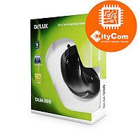 Мышь Delux DLM-388, проводная оптическая, 800dpi, черная, USB