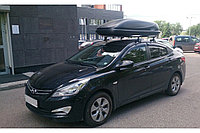 Автобокс чёрный Koffer Bonus черный 169х79х44 см