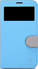 Чехол Nillkin In-fashion Leather Case для Samsung Galaxy Mega 6.3 i9200 голубой