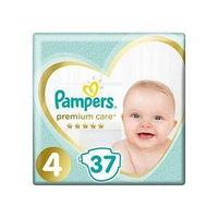 Pampers Подгузники Pampers, Premium Care Maxi 4, L, 37 шт/упак.