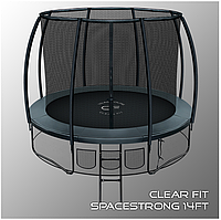 Батуты Clear Fit SpaceStrong 14ft