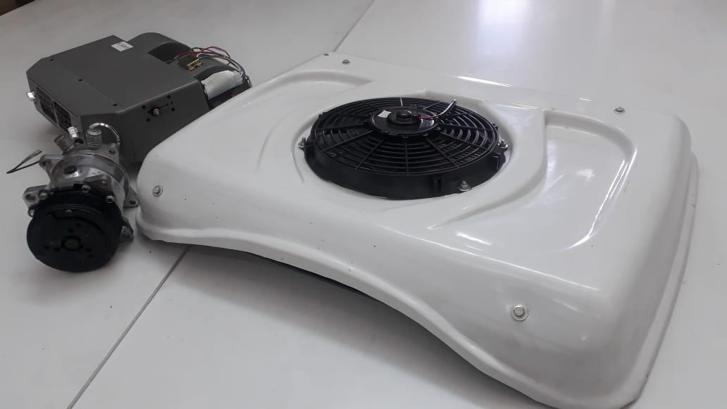 Авто кондиционер для КамАЗ (универсальный комплект) оптом и в розницу