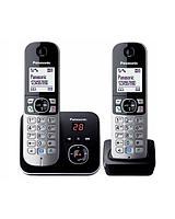Радиотелефон PANASONIC KX-TG6822CAB Black-silver