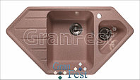 Мойка кухонная угловая GranFest Corner GF-C950Е