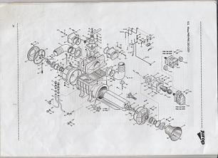 Комплектующие к Насосу вакуумному PNR 122D