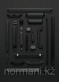 Черные мебельные ручки