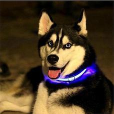 Уценка! Светодиодный ошейник для собак usb, фото 2