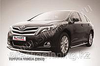 Защита переднего бампера d76 Toyota Venza (2013)