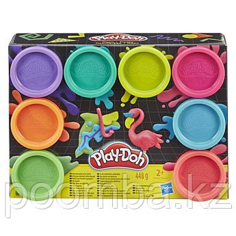 Набор пластилина Play-Doh - Неон, 8 цветов