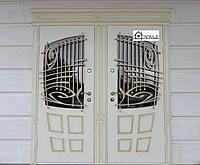 Дверь стальная с отделкой МДФ