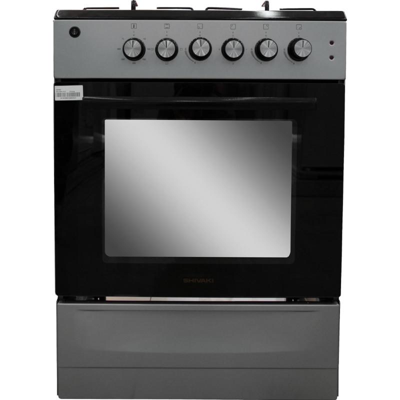 Комбинированная плита Shivaki Milagro E (серый)