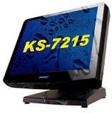 Posiflex KS-7215G Сенсорный терминал  (15'', Black, 4Gb RAM, Gen 6 base stand) SD-460Z-3U
