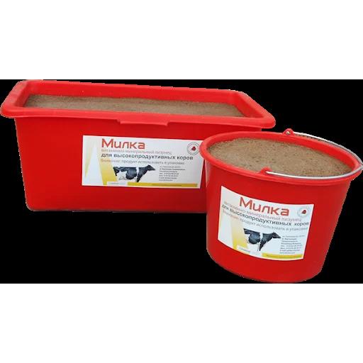 Лизунцы витаминно-минеральные для высокопродуктивных коров «МИЛКА»