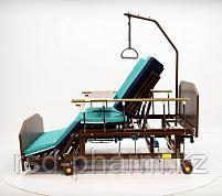 МЕТ REMEKS XL Медицинская кровать для ухода за лежачими больными с переворотом и туалетом, фото 3