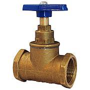 Вентиль (клапан запорный) латунь 15б3р Ду 25 Ру16, Тмакс=70 °С Цветлит