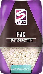 Рис круглозернистый 800 гр Salus