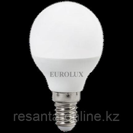 Лампа светодиодная EUROLUX LL-E-G45-7W-230-2,7K-E14, фото 2