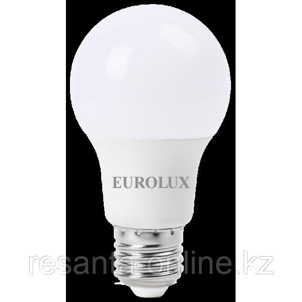 Лампа светодиодная EUROLUX LL-E-A60-20W-230-2.7K-E27