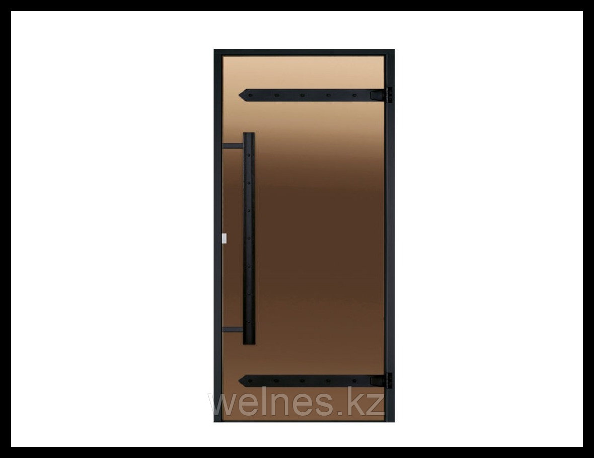 Дверь для хамама Harvia STG LEGEND (короб - алюминий, стекло - бронза, без порога)