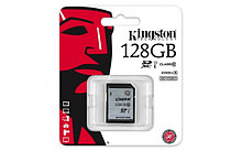 Карта памяти SD 128GB Class 10 U1 Kingston SD10VG2/128GB