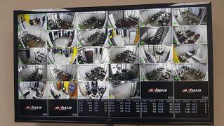 """Система цифрового видеонаблюдения в помещениях образовательного центра """"Aiplus"""""""