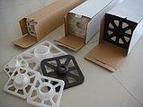 Матовый 1,07х18м (300гр/м2). Рулонный широкоформатный холст для струиной печати для широкоформатных принтеров, плоттеров, фото 4