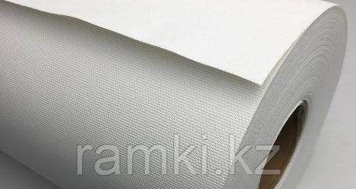 Матовый 1,27х18м (300гр/м2). Рулонный широкоформатный холст для струиной печати для широкоформатных принтеров, плоттеров