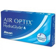 Линзы Air Optix Hidra Glyde 2шт (1 пара)