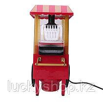 Аппарат для попкорна на колесах Ретро (Nostalgia), фото 2