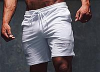 Спортивные шорты Gym Steeze белые