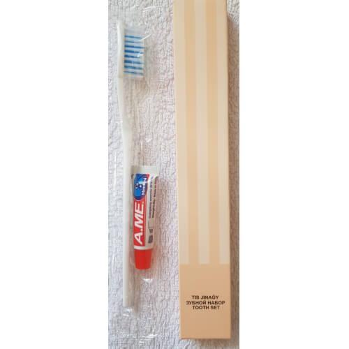 Набор зубная паста и щетка