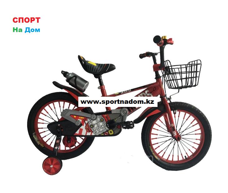 Велосипед Phillips на 5-6 лет с холостым ходом рама 18 (цвет-зеленый)