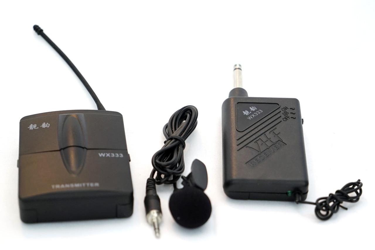 Беспроводной Петличный  микрофон 333 /до 20 метров/