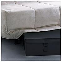 ЛИКСЕЛЕ Ящик для кресла-кровати, черный