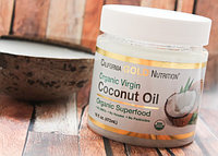 Органическое кокосовое масло первого холодного отжима