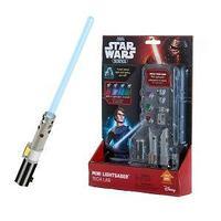STAR WARS Science Звездные Войны, мини-световой меч, 2 сменные линзы, 4 кристалла.
