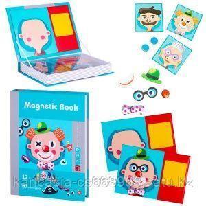 Magnetic Book Развивающая игра Magnetic Book Гримёрка веселья