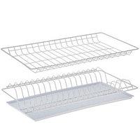 Комплект посудосушителей с поддоном 46,5х25,6 см, для шкафа 50 см, цвет белый